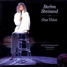 """BARBRA STREISAND """"ONE VOICE"""" PREMIUM QUALITY USED LP (NM/EX)"""