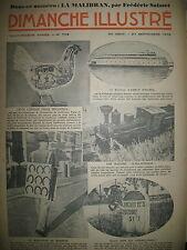 N° 709 REPORTAGES ROMAN CONAN DOYLE BD BICOT M. POCHE DIMANCHE ILLUSTRE 1936