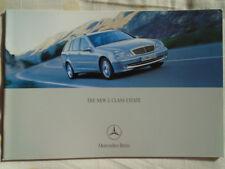Mercedes C Class Estate brochure Dec 2000