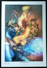 STREET FIGHTER CHUNG LI LTD EDITION ART PRINT - SIGNED CHRIS EHNOT 13x19 S&N 50