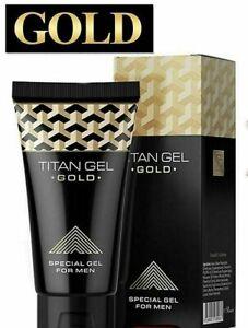 TITAN GEL GOLD INTIMATE LUBRICANT  Enlargement Jelqing Delayed 100%ORIGINAL