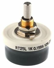 Vishay RT 25 W Wirewound reóstato Series, 1kÎ ©, â ± 10%