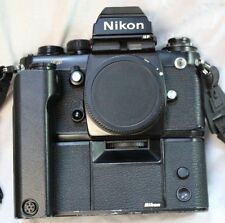 Nikon F3 HP 35mm Film Camera Body With MD-4 Motor Drive PRICE REDUCED!