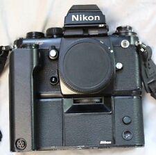 Nikon F3 HP 35mm Film Camera Body With MD-4 Motor Drive