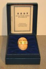 Halcyon Days Avec Amour With Love Egg Trinket Box w/ Box