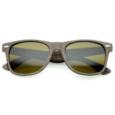 Gafas de sol de hombre Wayfarer marrón, con 100% UVA & UVB