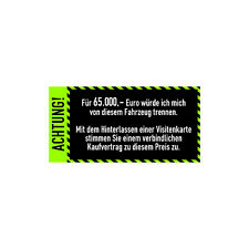 Auto Anti-Visitenkarten-Aufkleber Hellgrün Sticker Fahrzeug Digitaldruck Decal