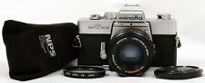 Excellent Minolta SRT 202 35mm SLR Film Camera c/w MD Rokkor-X 50mm f/2 Lens Kit