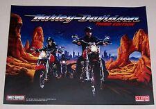 NOS! Stern Harley Davidson 3rd Edition Pinball Machine Translite 830-5287-00 New