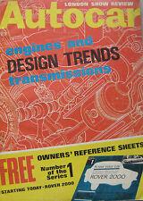 Autocar magazine 2/11/1967 featuring Moskvich de luxe road test