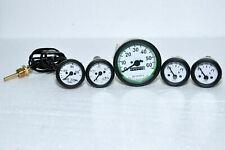 Willys MB Jeep Ford GPW CJ - Speedometer- Temp-Oil Fuel- Amp Gauges Kit