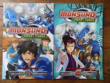 Lot 2 Monsuno Combat Chaos Books Vol 1 The Moto Mutants 2 Revenge/Sacrifice
