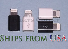 4PCS 2w & 2B Apple 8-Pin to Micro USB OEM Adapter for iPhone6-5-5S/iPad Mini/Air