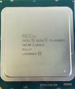 Intel Xeon E5-4640 v2 SR19R 2.20GHz 20MB 10 Core LGA2011 CPU Processor