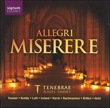 Allegri Miserere-Tenebrae, New Music