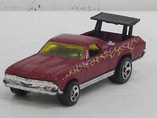 Chevrolet El Camino Pick Up in rot mit Dekorstreifen, ohne OVP, Hot Wheels, 1:64
