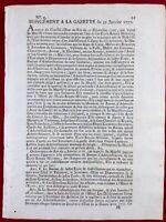 Prytanée Militaire de La Flèche 1777 Organisation École Militaire Gazette France