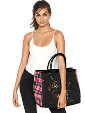 U.S.A. VICTORIA'S SECRET Angel City Tote Pink Plaid Bag