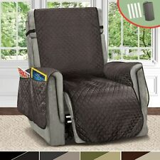 Recliner Chair Cover Waterproof Sofa Couch Mat Elastic Slipcover For Dog Pet Kid