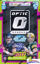 2017 Donruss Optic Football MASSIVE Factory Sealed 24 Pack Retail Box! Loaded!