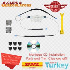 Window Regulator Repair Kit L Plastic Bracket 1JM898461 VW Golf 4 Bora Installed