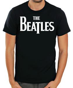 The Beatles Short sleeve Black Men T shirt K137B