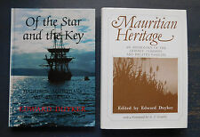 Edward Duyker- Of The Star and The Key AND Maurutian Heritage (Aust / Mauritius