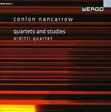 String Quartets & Studies - C. Nancarrow (2007, CD NEU)