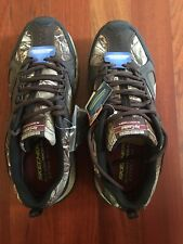 Skechers Men Outland 2.0 51586EWW- realtree camouflage camo NEW W/Box Size 13