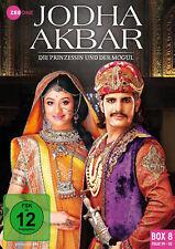 JODHA AKBAR BOX 8 - Bollywood TV-Serie -Staffel 8 Folge 99-112 - Auf Lager!