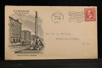 New York: Troy 1903 Reynold's Store Washington Square Advertising Cover
