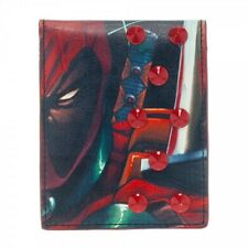 OFFICIAL MARVEL COMICS DEADPOOL PRINT WITH SPIKEY STUDS WALLET (BRAND NEW)