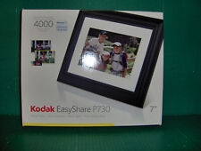 "Kodak Easy Share P730 7"" Digital Picture Frame New In Box Stores up to 4000 Pics"