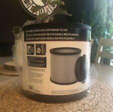 Universal 08 2566 Wet Dry Vacuum Replacement Cartridge Reusable Shop Vac Filter