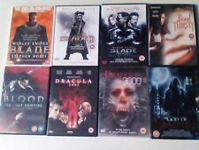 VAMPIRE DVDs x 8 LOT