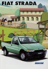 Prospekt Fiat Strada Pick-up 4/01 2001 Autoprospekt Broschüre Auto Pkw brochure