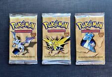 (x1) Pokemon Booster Pack Italian Fossil Factory Sealed