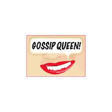 """Gossip Queen Fridge Magnet 3"""" x 2"""""""