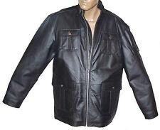 Sa Mode Men's Leather Jacket  Sz: Large