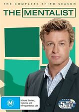 The Mentalist : Season 3 (DVD, 2011, 5-Disc Set) Brand new Genuine & Sealed D71