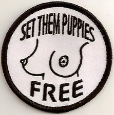 A4011 SET THEM PUPPIES FREE VINYL STICKER