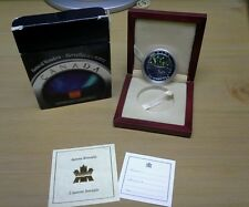 2004 Canada Natural wonders Northern Lights Silver Commemorative
