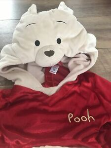 CHRISTOPHER ROBIN Winnie The Pooh Kids Fancy Dress Costume Outfit for age 3-4