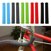 Bike Handlebar Grip Non-Slip Rubber Grip for MTB Scooter Cruiser Wheel Chair