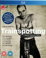 Trainspotting Ultimate Collectors Edition Blu-ray 1996 DVD Region 2