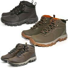 NEW Columbia Men's Newton Ridge Plus II Waterproof Hiking Lace-Up Trail Boots