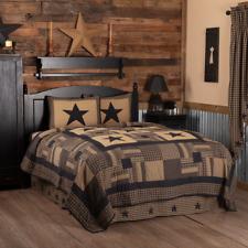 Black Check Star Quilt Set & Accessories. Choose Size & Accessories. Vhc Brands