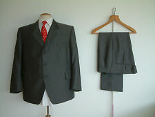 "BESPOKE SUIT...2 PIECE..MOLD & RUSSELL TAILORS..48"" x 42""..CLOTH MATCHED BUTTONS"