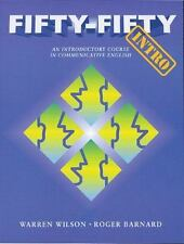 Fifty-Fifty Intro: An Introductory Course in Communicative English (St-ExLibrary