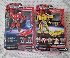 TransFormers Vintage Camaro Red Racing BumbleBee CliffJumper Movie 07 Lot G1 TLK